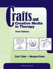 Cover of: Crafts and Creative Media in Therapy