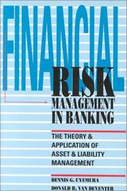 Cover of: Financial Risk Management In Banking