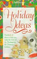 Cover of: Holiday Ideas