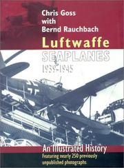 Cover of: Luftwaffe Seaplanes 1939-1945