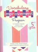 Cover of: Vocabulary Improvement Program for English Language Learners and Their Classmates