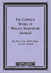 Cover of: The Compleat Works Of Willm Shkspr (Abridged) - Acting Edition