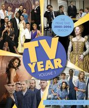 Cover of: TV Year: Volume 1: The Prime Time 2005-2006 Season (TV Year)
