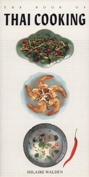 Cover of: The Book of Thai Cooking (Book of...)