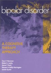 Cover of: Bipolar Disorder: A Cognitive Therapy Approach
