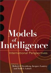 Cover of: Models of intelligence
