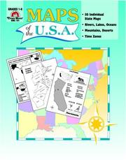 Cover of: Maps of the U. S. A.