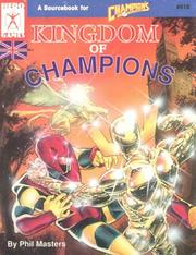 Cover of: Kingdom of Champions (Super Hero Role Playing, Stock No. 410)