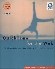 Cover of: QuickTime for the Web: For Windows and Macintosh (With CD-ROM)