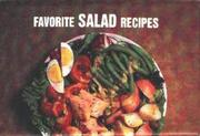 Cover of: Favorite Salad Recipes (Magnetic Book) (Magnetic Book)