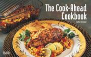 Cover of: The Cook-Ahead Cookbook (Nitty Gritty Cookbooks - Special Themes)