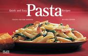 Cover of: Quick and Easy Pasta Recipes (Nitty Gritty Cookbooks)