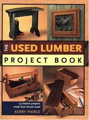 Cover of: The Used Lumber Project Book