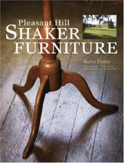 Cover of: Pleasant Hill Shaker Furniture