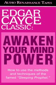 Cover of: Awakening Your Mind Power (Miss Manners' Audio Guide for the Turn-Of-The-Millennium)