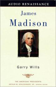 Cover of: James Madison (The American Presidents)