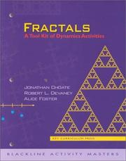 Cover of: Fractals (The Tool Kit of Dynamic Activities)
