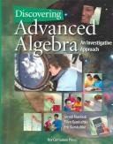 Cover of: Discovering Advanced Algebra