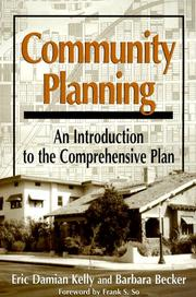 Cover of: Community Planning
