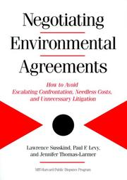 Cover of: Negotiating Enviromental Agreements