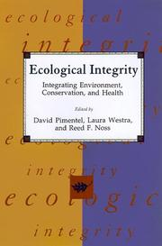Cover of: Ecological integrity