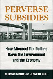 Cover of: Perverse Subsidies