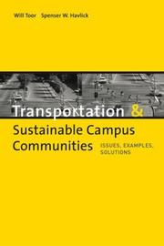 Cover of: Transportation and Sustainable Campus Communities