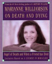 Cover of: Marianne Williamson on Death & Dying