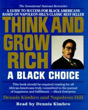Cover of: Think and Grow Rich:A Black Choice