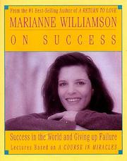 Cover of: Marianne Williamson on Success