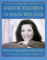 Cover of: Marianne Williamson on Dealing With Anger