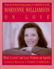 Cover of: Marianne Williamson on Love