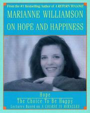 Cover of: Marianne Williamson on Hope and Happiness