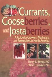 Cover of: Currants, Gooseberries, And Jostaberries