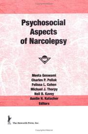 Cover of: Psychosocial Aspects of Narcolepsy (Loss, Grief & Care Series: Nos. 3) (Loss, Grief & Care Series: Nos. 3)