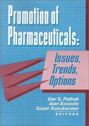 Cover of: Promotion of Pharmaceuticals