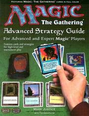 Cover of: Magic The Gathering Advanced Strategy Guide