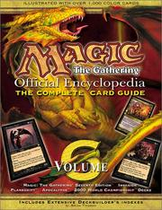 Cover of: Magic: The Gathering -- Official Encyclopedia, Volume 6