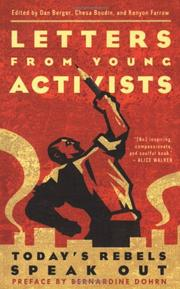 Cover of: Letters from Young Activists