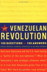 Cover of: The Venezuelan Revolution