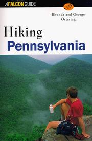 Cover of: Hiking Pennsylvania