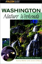Cover of: Washington Nature Weekends