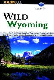 Cover of: Wild Wyoming