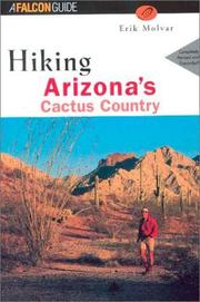 Cover of: Hiking Arizona's Cactus Country, 2nd