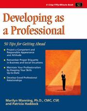 Cover of: Crisp: Developing as a Professional