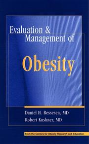 Cover of: Evaluation & Management of Obesity