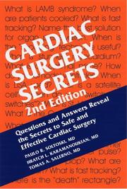 Cover of: Cardiac Surgery Secrets