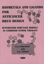 Cover of: Biometals and Ligands for Anticancer Drug Design