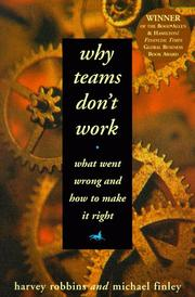 Cover of: Why Teams Don't Work