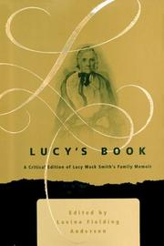 Cover of: Lucy's Book